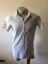 Maglia sisley camicia jersey shirt italian style trikot sizeL slim fit flower