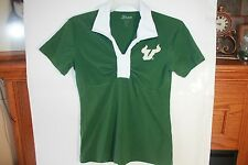 USF BULLS WOMANS JESSIE S/S POLO NEW EMBROIDERED SMALL