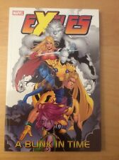 EXILES A BLINK IN TIME TPB, NM 9.4, 1ST PRINT, SABRETOOTH, MORPH