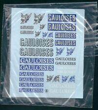 Décalque Gauloises casque 1/18 1/24  virages Décals transfert T8