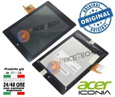 ACER Iconia Tab A1-810 A1-811 LCD DISPLAY SCHERMO SCREEN PANELLO + Touch Screen