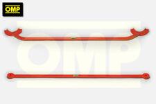 OMP FRONT & REAR STRUT BRACE RENAULT CLIO MK2 1.6 16v