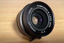 Leica Summicron M 1:2 / 28mm Asph - Black