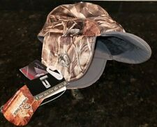 Banded Brimmed Camo Beanie Fleece Lined Hunting Hat Cap Realtree MAX 4 Camo NEW