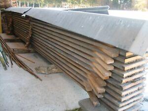 Bretter Fichte Holz 24 mm im Mond geschlagen Bauholz Altholz