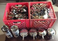 Lot of 124 Sterno Lids, 10 Sterno Bowls, & 4 Complete Sterno Sets