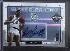 2009-10 Panini Limited Glass Cleaners Autograph #3 Bill Russell No 34 of 49