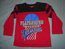 Garanimals Boys 3T Longsleeve Shirt (Playground Ballers)