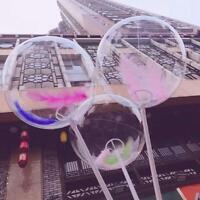 10pcs 12/18/20 in Luminous Transparent Bobo Bubble Ballons Party Decor Balloons