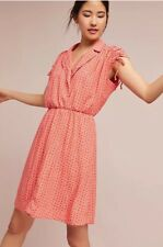 New Anthropologie Maeve Carlotta Shirtdress Dress Size Small