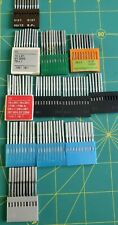 Assorted sizes of Vintage Industrial Sewing Machine Needles 80 to 140 #9