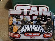 Star Wars Galactic Heroes Grand Moff Tarkin & Imperial Officer 2 Figure Pack