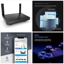 Linksys MR7350 Dual-Band Mesh WiFi 6 Router (AX1800, Compatible with Velop Whole