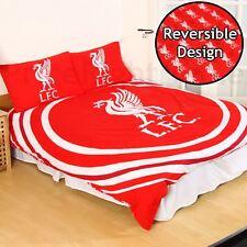 Liverpool FC Pulse Double Duvet Cover Set Boys Club Crest - 2 in 1 Design