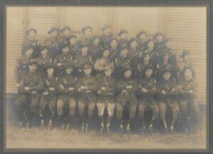 WWI AUSTRALIAN SOLDIERS UNIT PHOTO COLOUR PATCH LIGHT HORSE ANZAC AIF