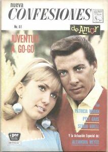 Confesiones de Amor #61-1966 fn+ Romance Spanish Comic fumetti  Editorial La Pre