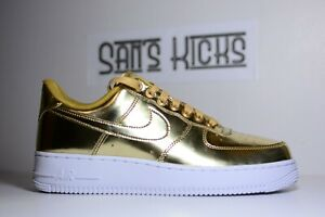 Nike Air Force 1 Low Metallic Gold (W) Olympic [Size 7-16][CQ6566-700]