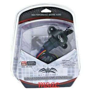 Wet Sounds WW-BTVC-V2 Bluetooth & Volume Control In dash under dash mount NEW