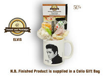 Elvis Mug with a Rock n' Roll Selection 1950's Traditional Sweets