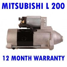 MITSUBISHI L 200 2.5 PICKUP 1996 1997 1998 1999 2000 - 2007 STARTER MOTOR