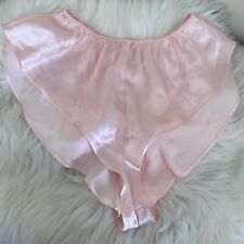 Vintage Victoria's Secret Crown Label Flutter Panty