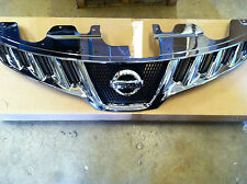NEW OEM 2009-2010 NISSAN MURANO CHROME FRONT GRILLE - COMES WITH NEW EMBLEM