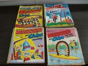 Best Of Whizzer and Chips Comics x24 1986 to 1989 - UK Youth Comic