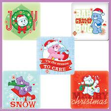 Care Bears Stickers x 5 - Christmas Stickers Care Bears - Joy - Secret Santa