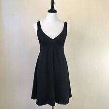Susana Monaco Knit Empire Waist Ruched Front Dress Size Small Stretchy