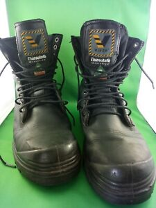 Viper CSA 18848 EEE safety boot size 11 black leather preowned