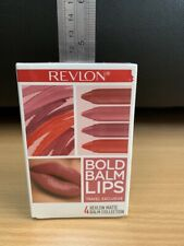 Matte Balm 4pc Set Bold Balm Lips (Revlon) (Original)
