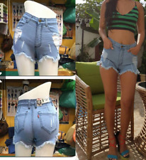 BANGKOK HIGH WAIST TATTERED SHORT
