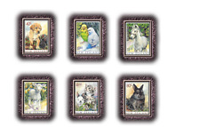 NLZ99021  Pets 6 pieces MNH NEW ZEALAND 1999