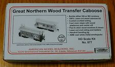 American Model Builders, Inc HO #877 Great Northern Wood Transfer Caboose (No Tk