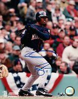 Jacque Jones Signed 8X10 Photo Autograph Minnesota Twins Batting Auto w/COA