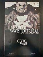 PUNISHER: War Journal #1 Civil War (2006 MARVEL Comics) VF/NM