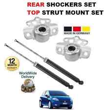 FOR FIAT PUNTO + GRANDE PUNTO 199 2006 > 2x REAR SHOCKERS + TOP STRUT MOUNTINGS