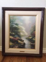 "THOMAS KINKADE   ""PEDALS OF HOPE""    S/P"