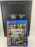 PS4 Spiel / GTA V Grand Thaft Auto V + Limited Edition Guide / PS 4 / Gebraucht
