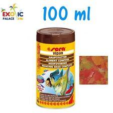 SERA VIPAN 100ml MANGIME COMPLETO IN FIOCCHI PER PESCI SCAGLIE ACQUARIO DOLCE