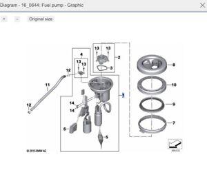 BMW Motorrad F800S / F800ST Genuine Fuel Pump with level sensor