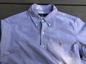 Men's Ralph Lauren Size L Dress Shirt Nice Light Purple