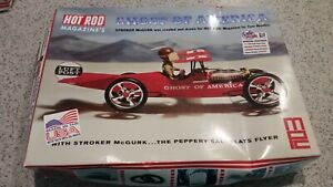 MPC Hot Rod Magazines Ghost of America Stroker McGurk model kit