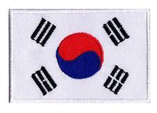 Ecusson patche à coudre patch COREE DU SUD Corée 70 x 45 mm brodé