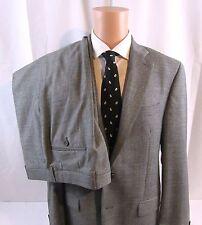 Ralph Lauren Suit 2pc Blk/Grey  Mini Houndstooth Tweed 40 R, 100%Wool