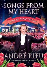 Andre Rieu Johann Strauss Orchestra Songs from my Heart Live In Maastricht DVD