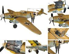 Me 109 G 2 Schwarze 1 _Trop -  Afrika Korps - in  1:18 von BBI - Extrem rar !!!