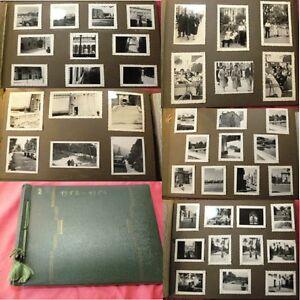 VOYAGE ESPAGNE ALBUM PHOTOS FAMILLE Valence, Grenade, Malaga Teneriffe, 1953