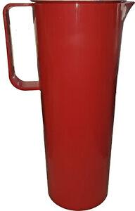 Karaffe / Saftkrug / Wasserkrug / Pitcher mit Deckel 1,45 Liter aus Biomaterial