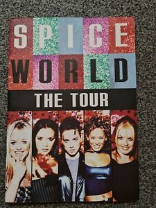 Spice Girls 1998 Spice World The Tour Programme Souvenir Collectable